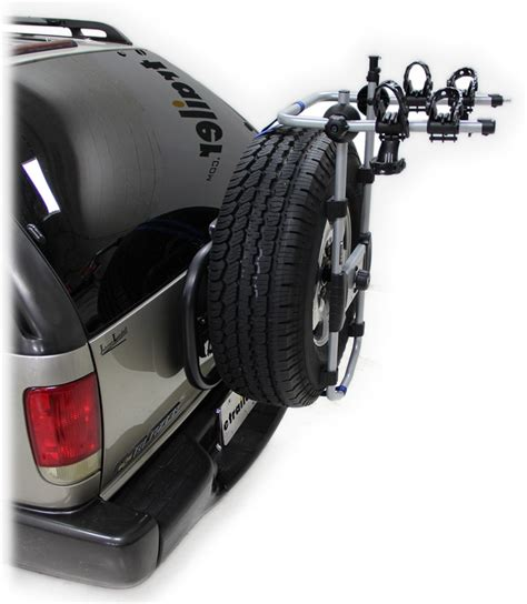 tire rack reviews thule spare me 2 bike rack spare tire mount folding