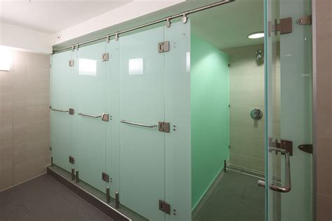 clear acrylic panels washroom washroom shower cubicles luminoso glass