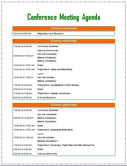meeting agenda template agenda template meeting agenda