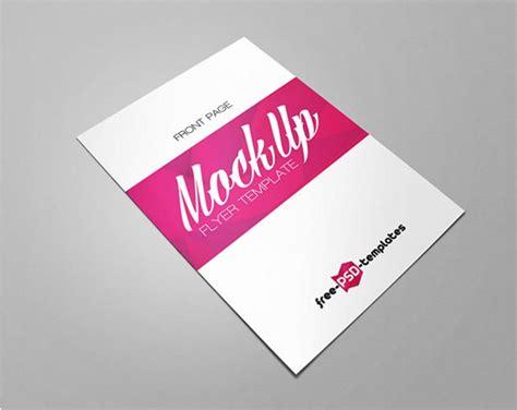 Flyer Mockup Set Of Half Fold Flyer Mockups Mockupworld