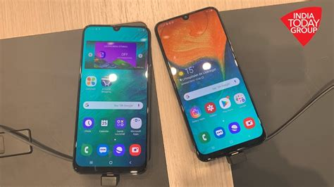 samsung galaxy a30 a50 review affordable mid range