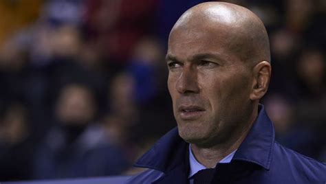 Zinedine Zidane 'Disgusted' With Real Madrid After ...