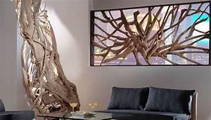 Separateur De Piece Bois : interieur bois flotte et racine de teck recherche google ~ Farleysfitness.com Idées de Décoration