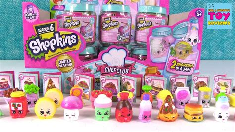 shopkins chef club season 6 2 jar unboxing toy review 2 pstoyreviews youtube