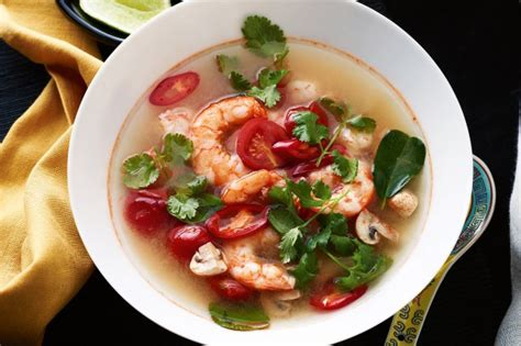 tom yum soup tom yum soup recipe taste com au