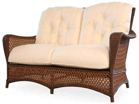 Loveseat Replacement Cushions by Lloyd Flanders Grand Traverse Loveseat Replacement