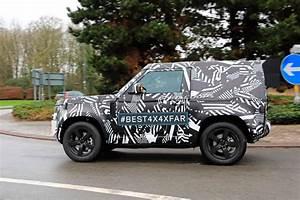Nouveau Land Rover Defender : le futur land rover defender de sortie en ch ssis court ~ Medecine-chirurgie-esthetiques.com Avis de Voitures
