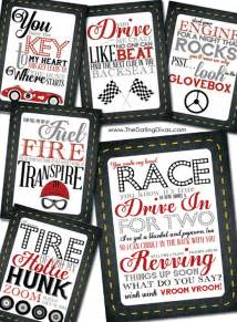 Romantic Treasure Hunt Clue Cards Printable