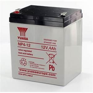 Batterie 12v 4ah : lead 12v 4ah np4 12 yuasa yuasa battery ~ Medecine-chirurgie-esthetiques.com Avis de Voitures