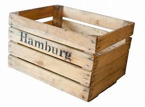 Grüne Kiste Hamburg : apfelkiste mit aufdruck hamburg 50x40x30 cm ~ Orissabook.com Haus und Dekorationen