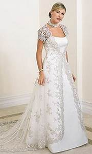 wedding dresses for full figured brides With full figure wedding dress