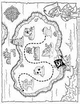 Treasure Pirate Map Drawing Coloring Maps Tim Printables Printable Pages Timvandevall Vall Van Simple Drawings Getdrawings Paintingvalley Innen Mentve sketch template