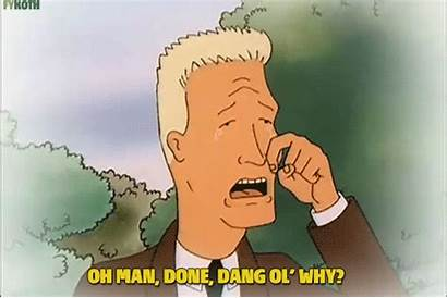 Boomhauer Dang Ol Hill King Why Gifs