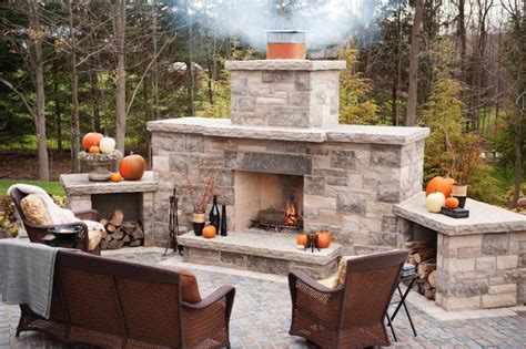 indoor outdoor fireplaces outdoor fireplace kits home design ideas