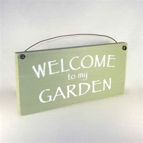 garden sign garden signs gardening signs