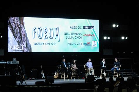 christian business leaders share experiences  living