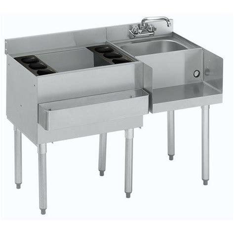 Krowne   Sink, Underbar, Ice Bin With Blender Workstation