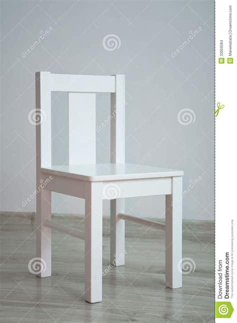 Vacant Chair by White Chair In An Empty Room Stock Images Image 33059584