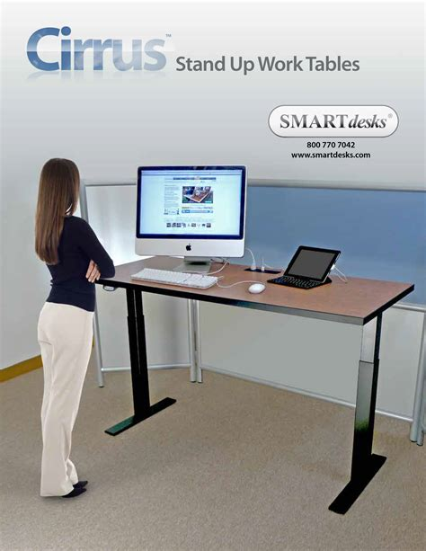 foot stand for desk stand up smart desks new line makes it easier for people