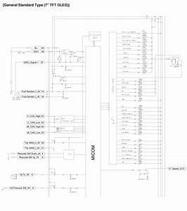 Kia Sedona  Instrument Cluster Schematic Diagrams