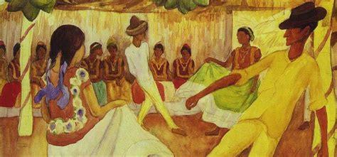 la obra baile en tehuantepec de diego rivera alcanzo