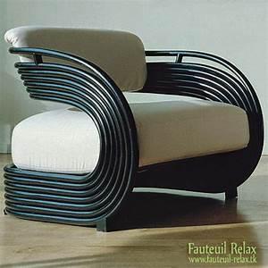 Fauteuil Rotin Design : fauteuil design en rotin nastro fauteuil relax ~ Nature-et-papiers.com Idées de Décoration