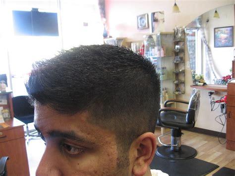 mens haircut mountain view the high and tight sides and back blending to a 4000