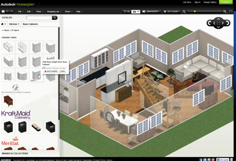 autodesk homestyler easy tool  create  house layout