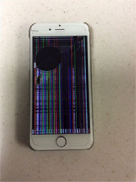 apple genius bar iphone screen black lines