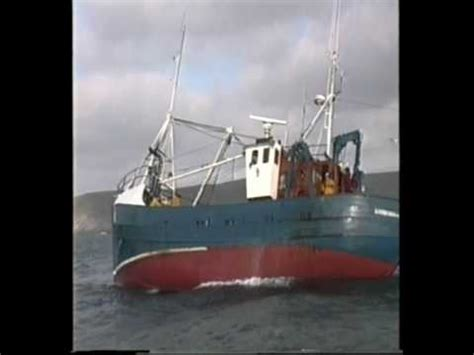Find A Fishing Boat In Ireland by An Irish Fishing Trawler Herring Fishing Youtube