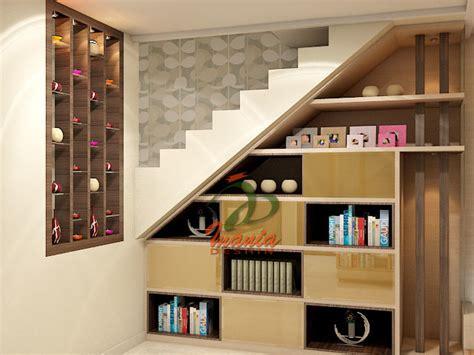 rak tangga rak bawah tangga rak sepatu model rak sepatu