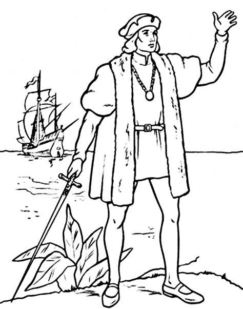 Barcos Para Colorear De Cristobal Colon by Dibujos De Cristobal Colon Con Las Tres Carabelas