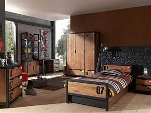 Chambre Deco Industrielle : deco chambre ado industriel visuel 3 ~ Zukunftsfamilie.com Idées de Décoration