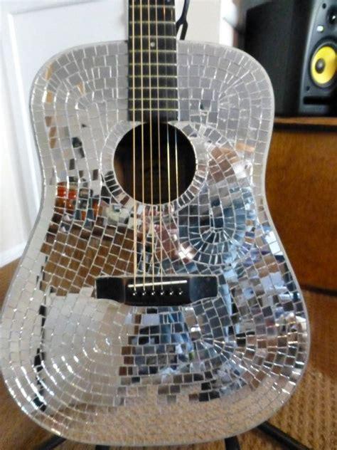 Fliesenspiegel Abschlagen by Glass Mosaic Mirrored Tile Acoustic Guitar Playable