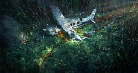 crashed plane  joakimolofsson  deviantart