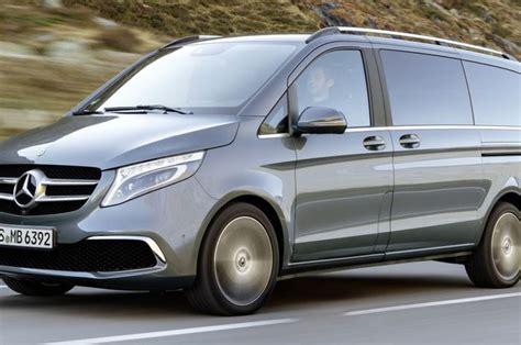 Modifikasi Mercedes V Class by Mercedes V Class Dapat Facelift 0 100 Km Jam Hanya 7