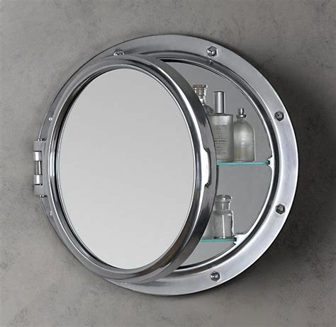 Brass Porthole Medicine Cabinet by 1000 Ideas About Medicine Cabinet Mirror On