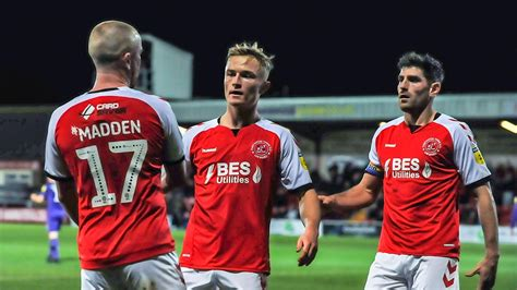 Watch: Fleetwood Town 2-1 Tranmere Rovers highlights ...