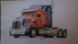Transformers Age of Extinction - Optimus - Truck by ...