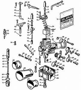 Parts Diagram For Dellorto Vhb Carburetors