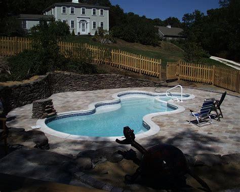 inground fiberglass swimming pools cape  aquatics