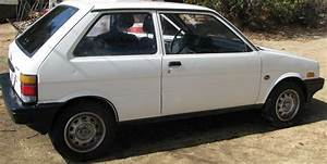 Subaru Justy Hatchback 1988 White For Sale