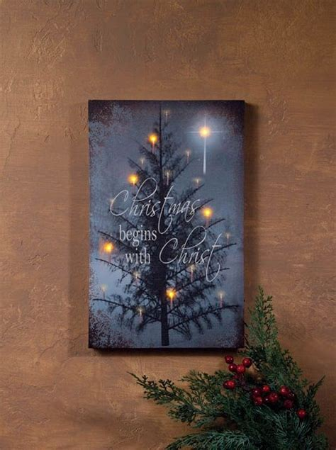 Lighted Pictures by Radiance Lighted Canvas Begins With