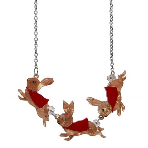 flopsy mopsy cottontail necklace