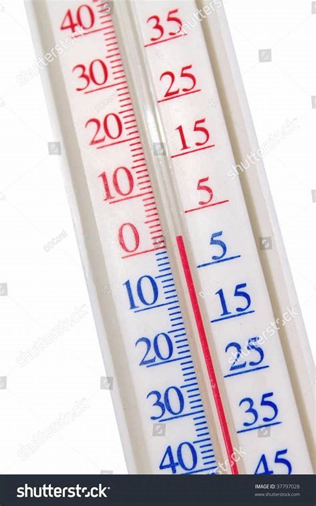 #Red #Mercury #Thermometer #Stock #Photo #37797028