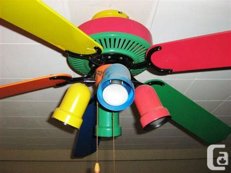 multi colored ceiling fan lighting  ceiling fans