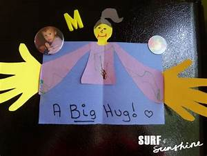 A BIG Hug DIY Fathers Day Card #fathersday #forkids #crafts