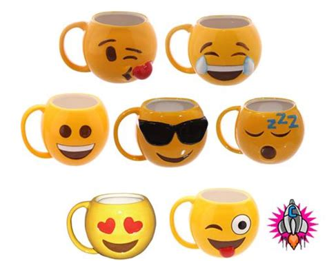 Emoji Emoti Coffee Mug Cup New Gift Box Lol Cool Love Acrylic Glass Coffee Table Overstock One Scoop Cup Maker Bella Outdoor Wooden Plans Craigslist Contemporary Accessories Metal Uk Single Serve Hottest