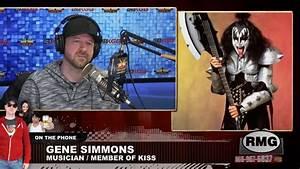 Gene Simmons – full interview – Rover's Morning Glory