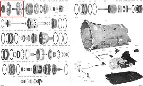 oil pumpautomatic transmission zf hp